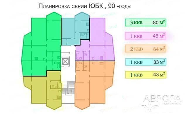 Изображение - Типовые серии домов и планировки квартир 90