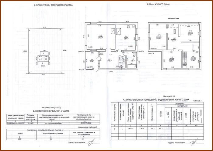 Изображение - Изготовление техпаспорта на дом page1