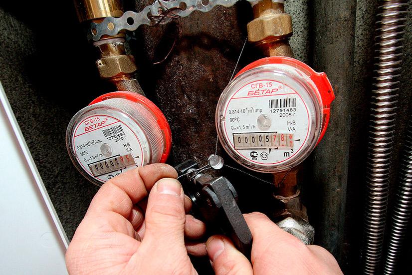 Замена счетчика горячей воды - сроки, порядок действий и стоимость