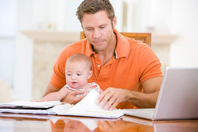 Прописать новорожденного